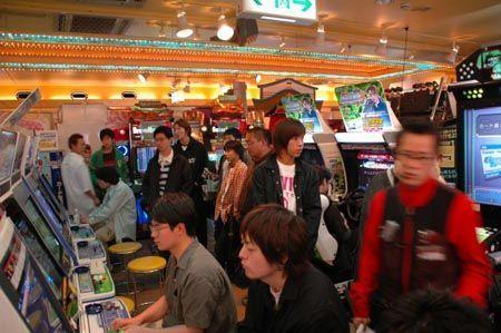 Salle de jeux video